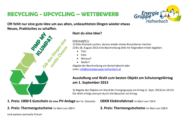 Flyer-Upcycling